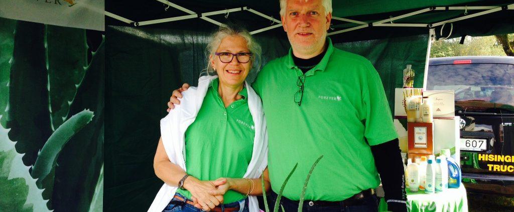 MarieLouise och Stefan på Bondens Dag